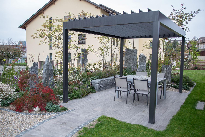 Die Gartenpflege erledigt die Wohlfühlgarten Portmann GmbH aus Schötz für Sie.