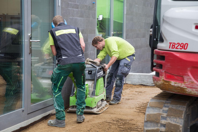 Das Team der Wohlfühlgarten Portmann GmbH erledigt Ihren Gartenbau mit Stolz!